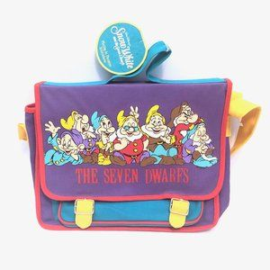 90s Snow White and the Seven Dwarfs Messenger Bag